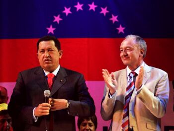 Hugo Chavez and Ken Livingstone