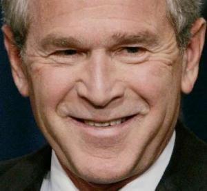 Bush smirk