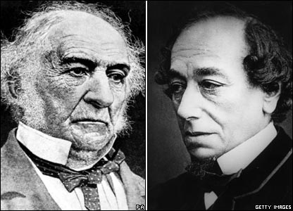 a comparison of benjamin disraeli and william gladstone Mutual dislike in the general election of 1 april 1880, the conservative party under benjamin disraeli was crushingly defeated by the liberals (known as whigs) - under william gladstone.