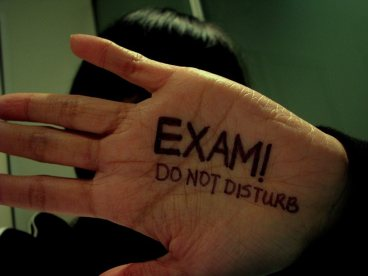 exam, do not disturb