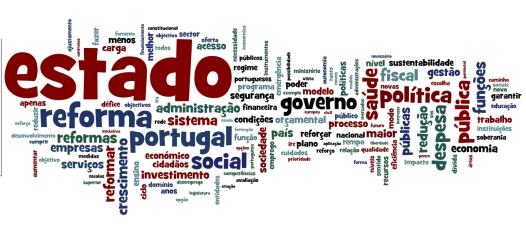 Word Cloud Guiao Reforma Estado