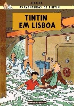 Tintim em Lisboa