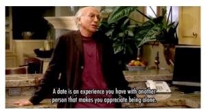 O filósofo Larry David sobre o drama existencial da selecção sexual