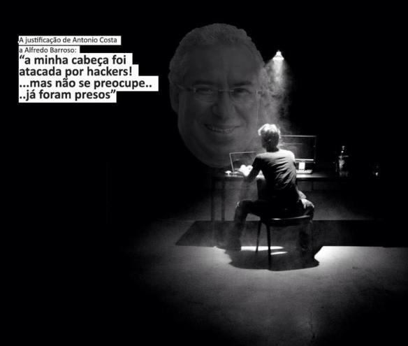 António Costa e os hackers