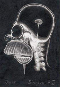 homer x ray