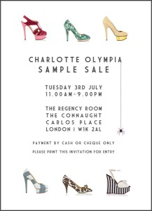 Sample-Sale charlotte olympia