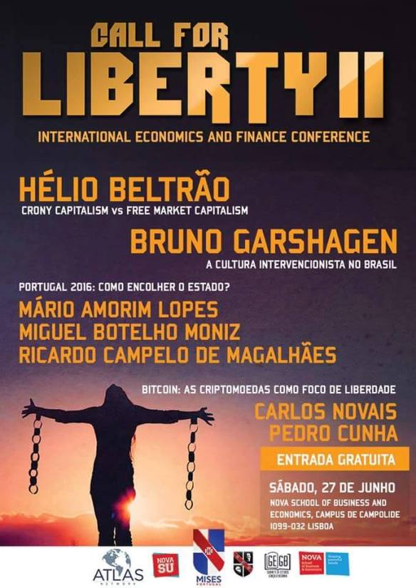 Call for Liberty - Mises Portugal