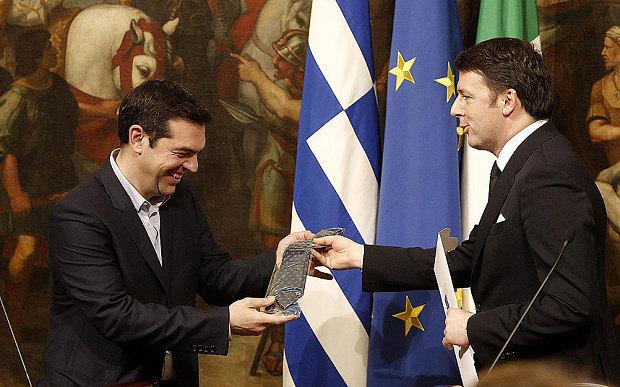 Esta gravata foi paga pelo contribuinte italiano. Não tens de quê.