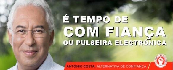 António Costa PS Confiança Com Fiança