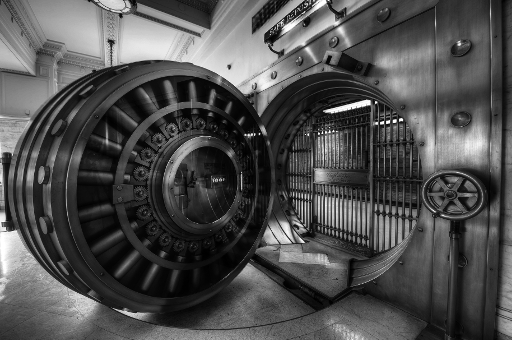 """Vintage Bank Vault"" - Brook Ward @flickr.com (creative commons)"