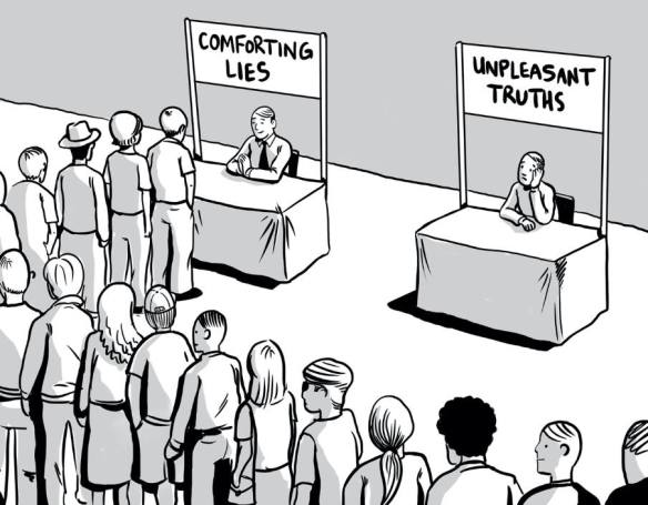 Conforting Lies