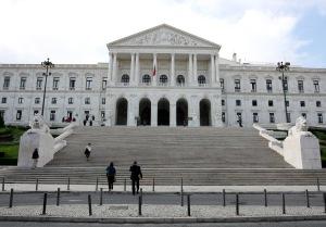 Aspecto da fachada do Palacio de Sao Bento, Assembleia da Republica, em Lisboa a 7 de Novembro de 2006    INACIO ROSA / LUSA