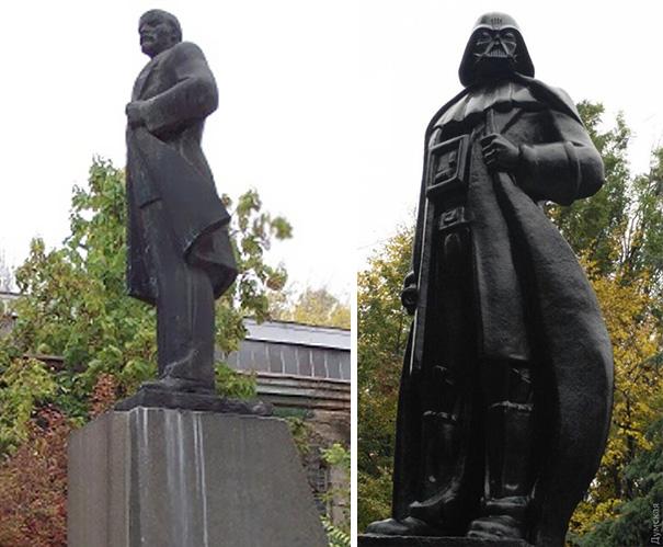 lenin-monument-darth-vader-wifi-odessa-alexander-milov-4