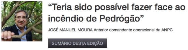 Pedrogão - José Manuel Moura