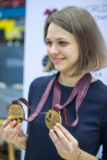 Grandmaster chess Anna