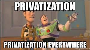 Resultado de imagem para privatization meme