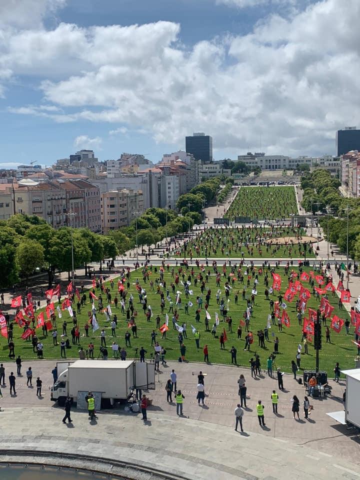 Manifestação 1 de Maio 2020